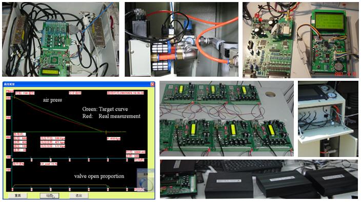 Train's air Brake Testing System (TBTS)